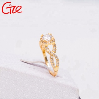 engagement gemstone simple new design for wedding rings with ladies gold finger ring