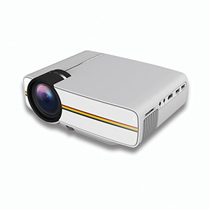 1080p Full HD Wi-Fi Connection Smart Pico Multimedia Portable Pocket Projector, Plug & Play,Ideal for Home & Office
