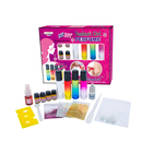 Fashion girls makeup kit toy set,kids cosmetic make up kit toy set for dress up game Kids perfume