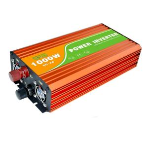 1KW pure sine wave inverter 12v dc to 220v 1000w 24v to 220v continous power 1000W surge power 2000W