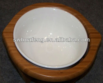 Oem Bamboo Round Dinner Tray Made In China