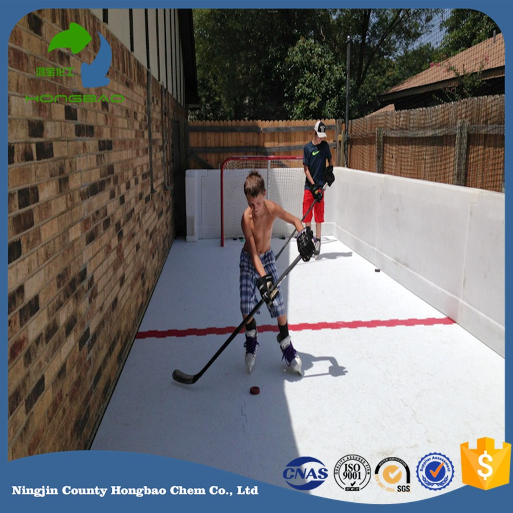 children ice playground backyard skating floor hdpe roadway panels