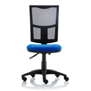 High quality mesh and fabric office chair staff chair No arms (SZ-OCM90)