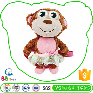 Most Popular Excellent Quality Funny Plush Toy Monkey Stuffed
