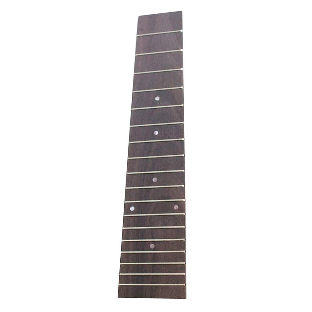 White Homyl Pack of 100 DIY Fingerboard Fretboard Side Dot Markers for Guitar Bass Replacement Parts