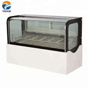 GN 1/3X7 PC Tank Electric Ice Cream Popsicle Display Freezer