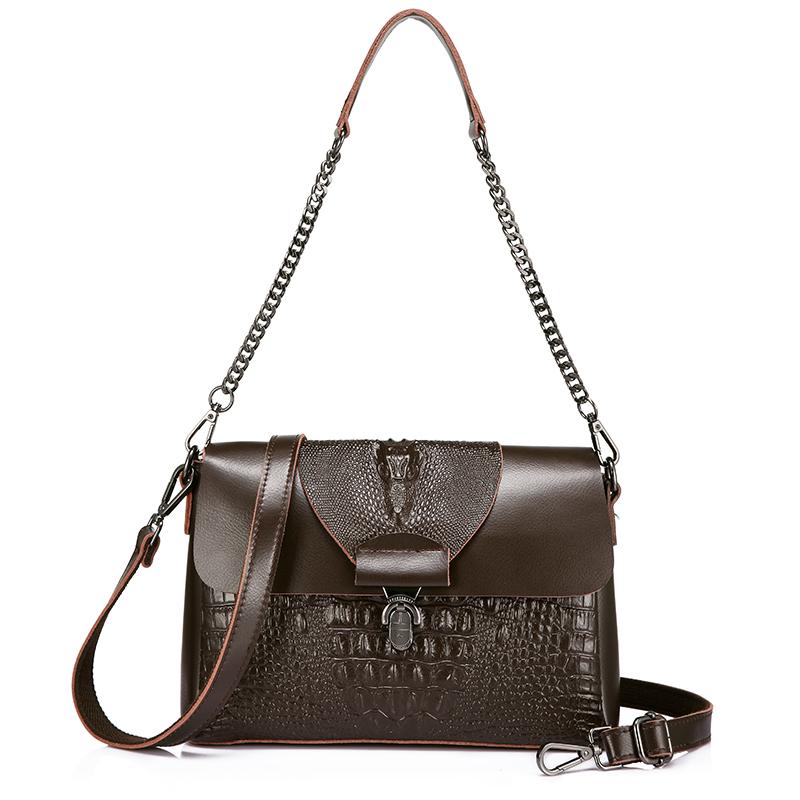 REALER женские сумки-мессенджеры из спилка, сумки с верхней ручкой, женские сумки, женские сумки с крокодиловым принтом, сумки через плечо(Китай)