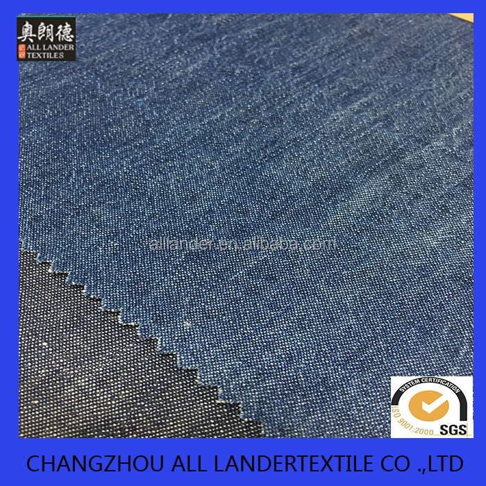 plain weave heavy denim fabric with slub for pants and trousers