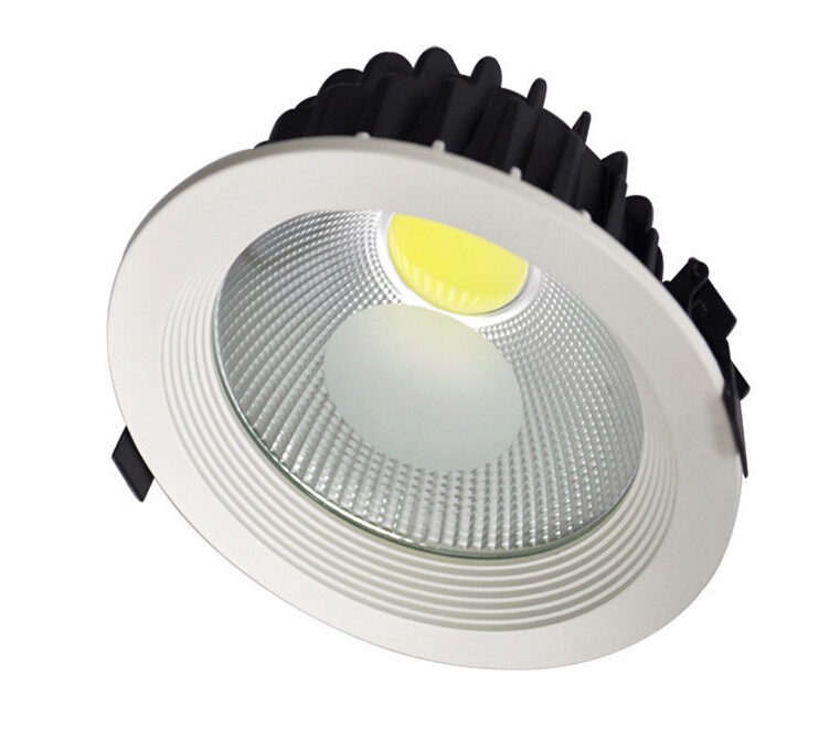 DHL Free shipping 10pcs/lot high power led cob downlight 15w 5 inch COB LED downlight AC85-265V dowlight led cob 15w
