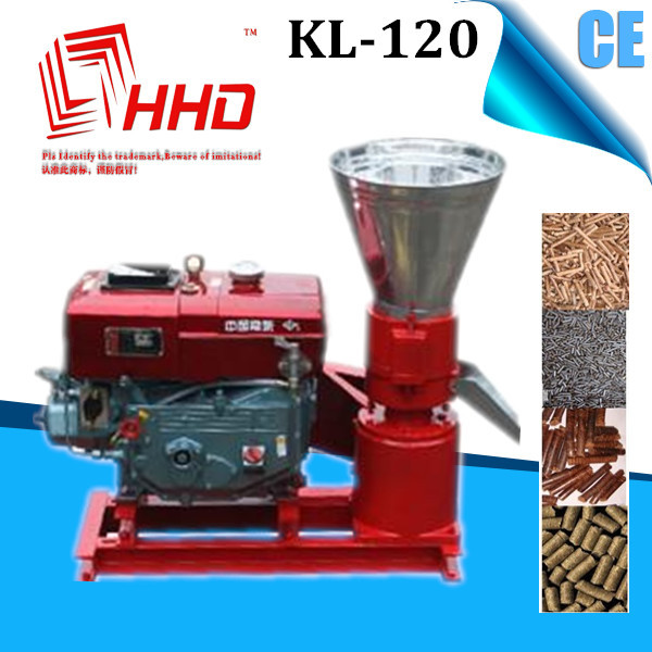 Model KL-120 hout pellet machine/zaad pelleting machine/houtpellets molen
