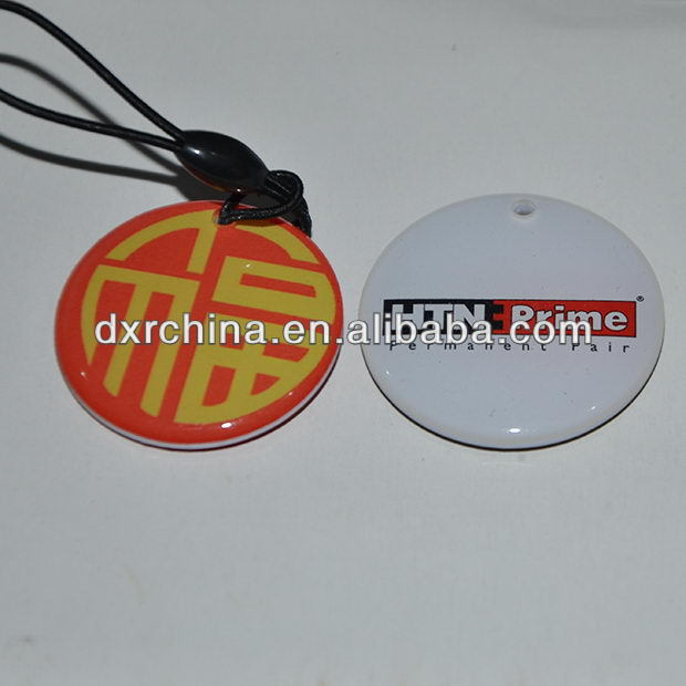 Excellent quality new design pvc rfid 1k mobile phone security tag
