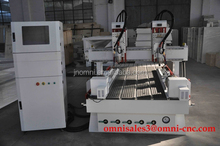 high efficiency many pieces work at same time air cooling cnc router machine/wood cnc router/multi spindle cnc