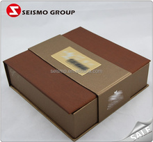 Luxury Imitation Wood Paper Cardboard Cookie Gift Box
