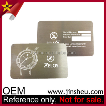 Manufacturer Custom Made Stainless Steel Cheap Business Metal Name Card -  Buy Metal Name Card,Business Metal Name Card,Cheap Metal Name Card Product