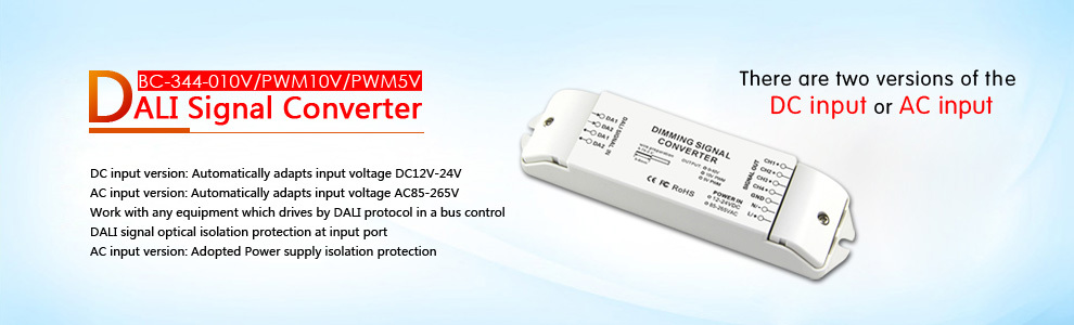 Bc- 344-010v Dali Dimming Signal To 0-10v Led Dimming Driver ...