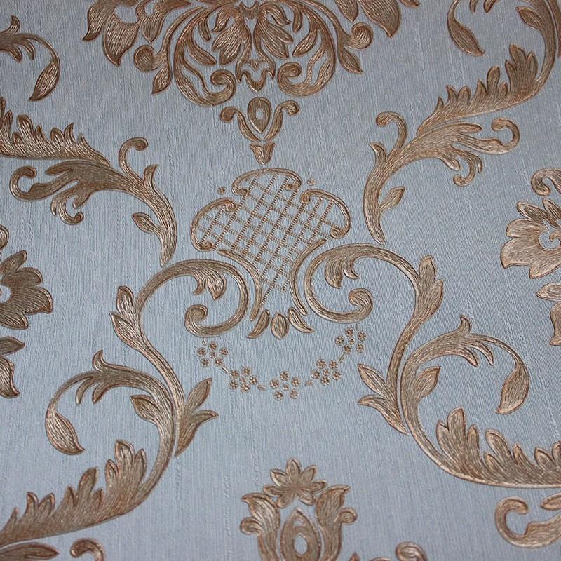 Beautiful Gold Damask Wallpaper/elegant Wallpaper/pvc ...