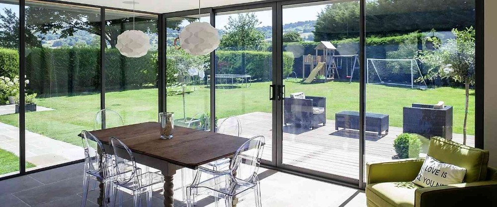 product-Aluminum Double Glazing Patio Sliding Door For Sale-Zhongtai-img-1