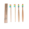 Nature eco-friendly bamboo charcoal fiber bamboo toothbrush