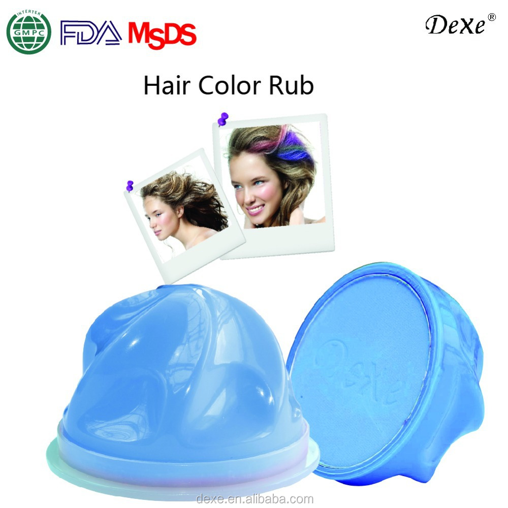 easy removable hair color chalk powder of Dexe Best top sale OEM ODM