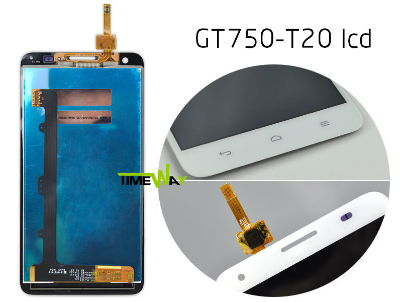 2017 cellphone spare parts for huawei gt750-t20 lcd digitizer, best seller for huawei gt750-t20 display screen