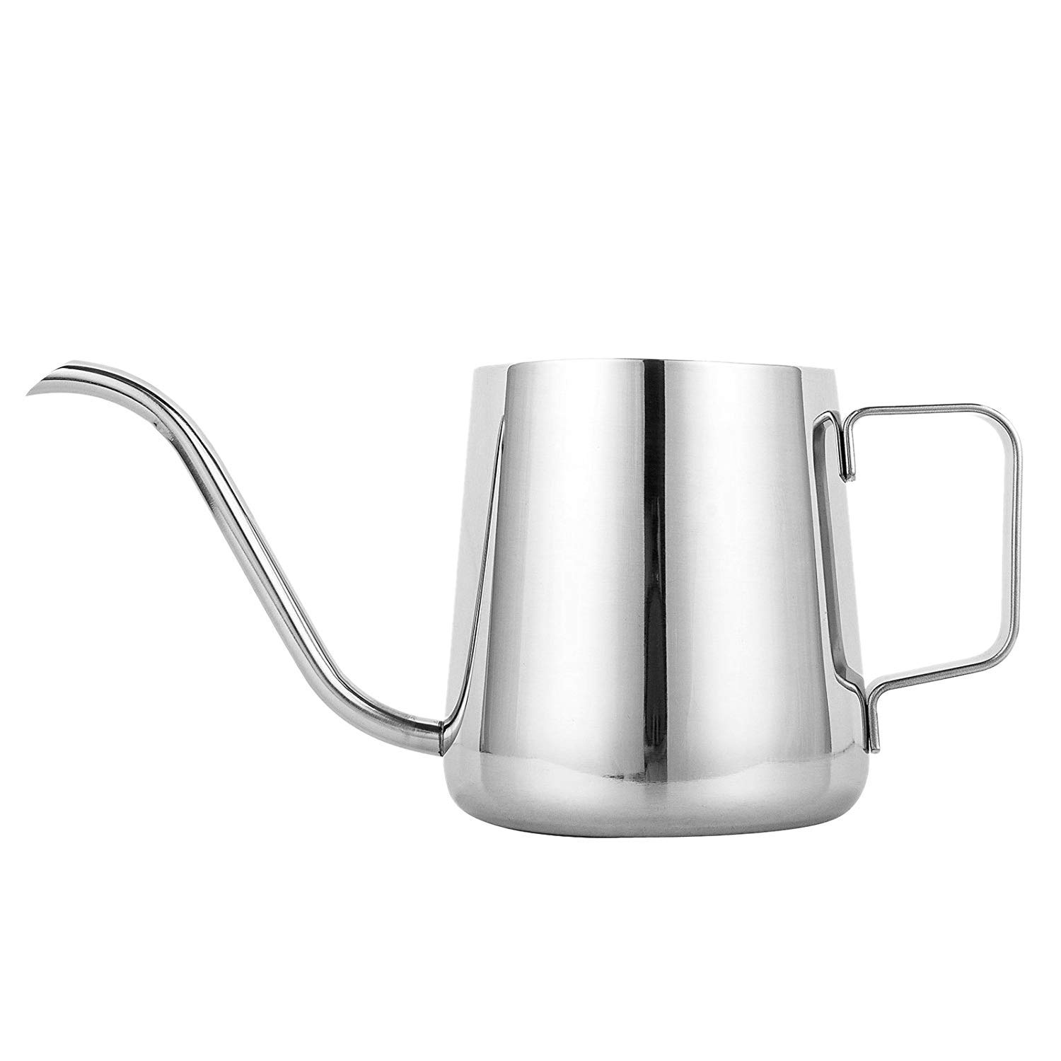 Latte and Frothing Milk Suitable for Coffee SM SunniMix Various Milk Frothing Pitcher Jug 8 Colors Available Stainless Steel Black 600ml