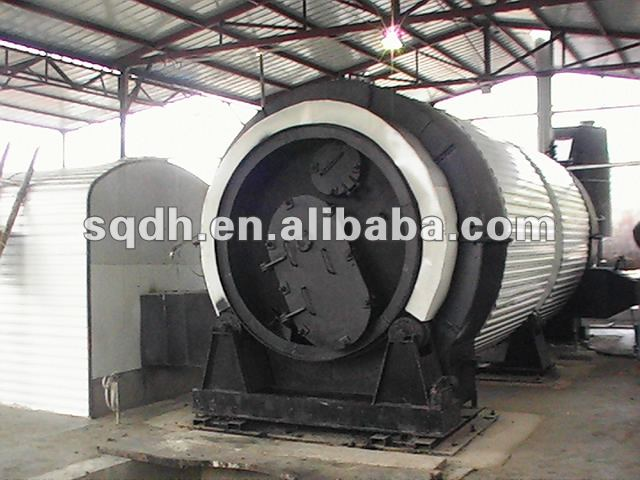 carbon black used tyres oil &carbon black extracting plant form waste tyres/plastics
