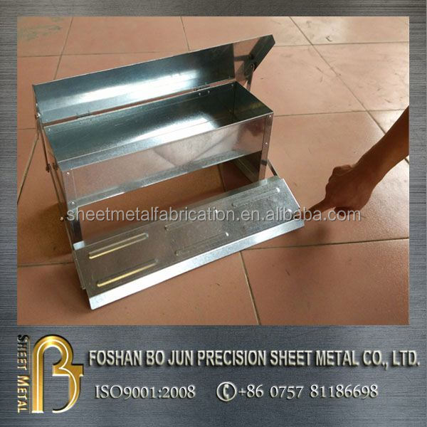automatic feeders galvanized steel treadle feeder made in china