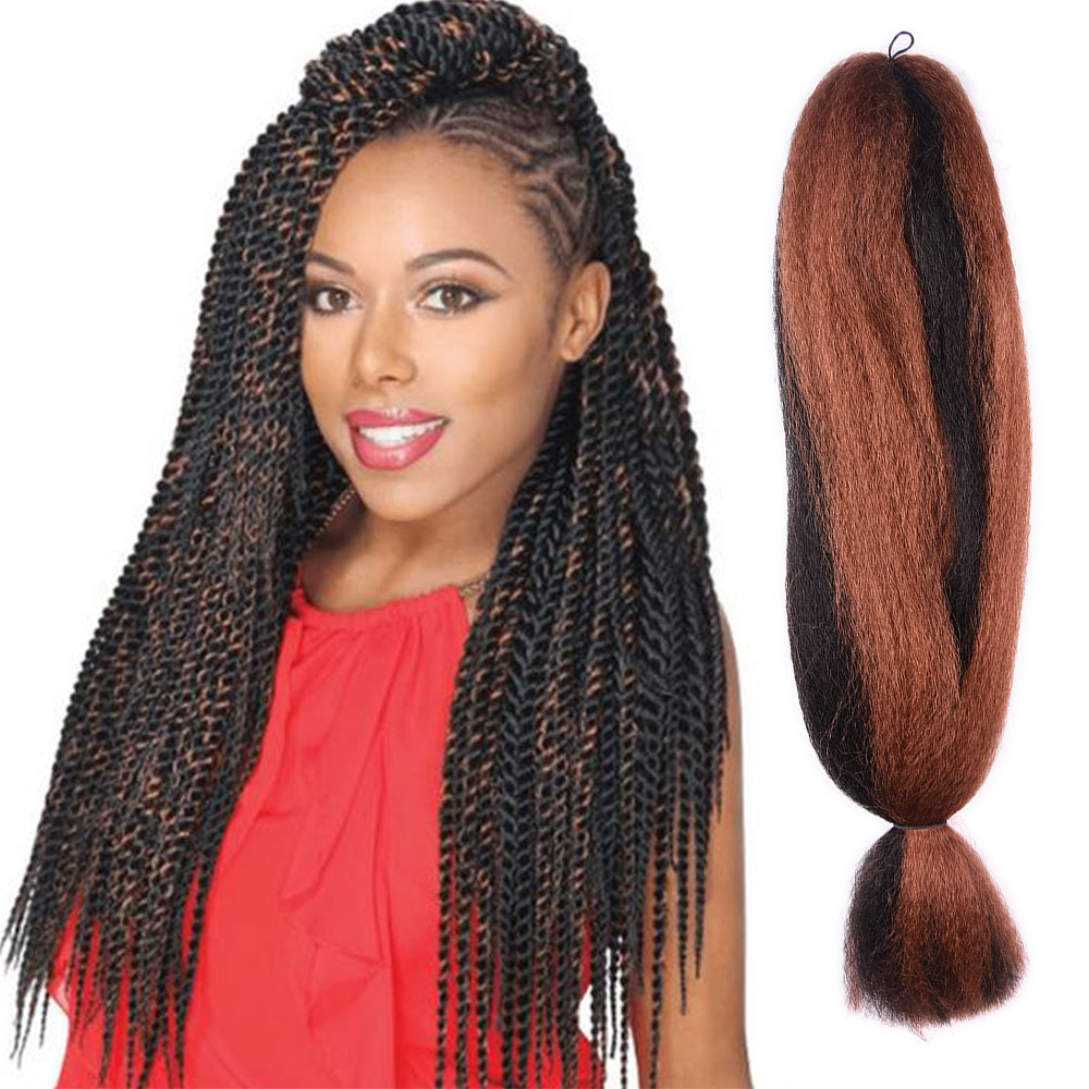 large stock hote sale women yaki synthetic hair weave braids