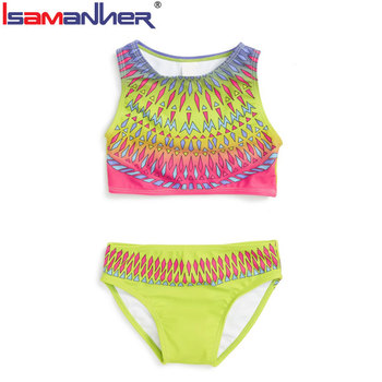 Cheap kids swimsuit wholesale  two piece kids bikini