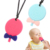 Custom Food Animimal Personalize Baby Teether BPA Free Silicone Teething Toy For Toddlers