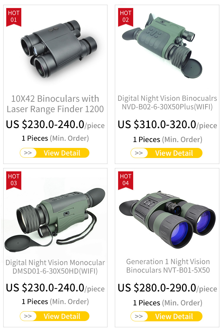 Digital Night Vision with Functions of Phototaking and Recording DMSD01-6-30X50HD