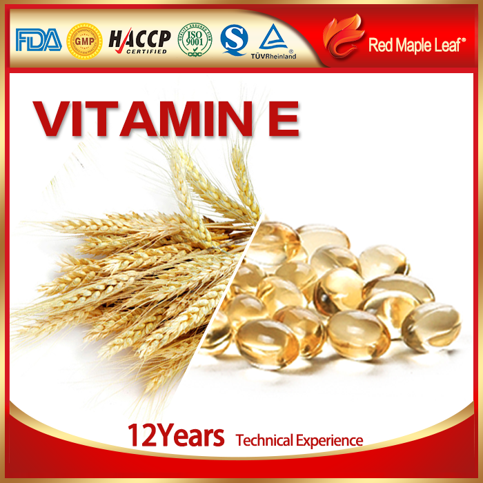 Food Grade Cosmetic Grade Standard Hair Vitamin e Oil Softgel Capsule