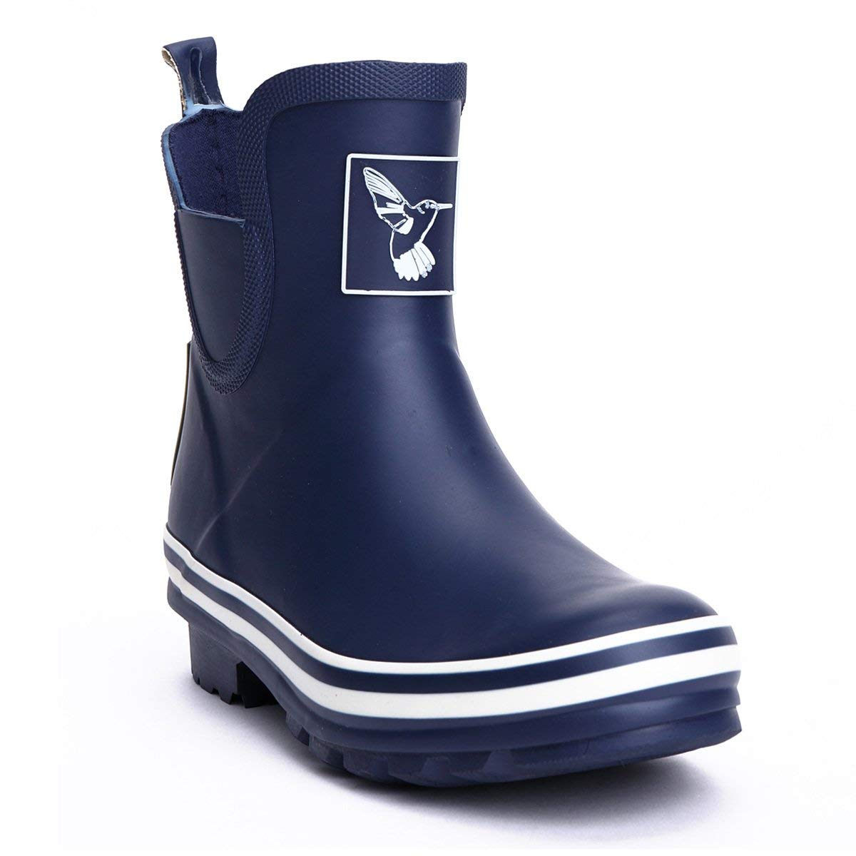 fab0757af08a Get Quotations · Evercreatures Women s Rain Boot Ankle Boots Meadow Wellies  Garden Boot UK Brand