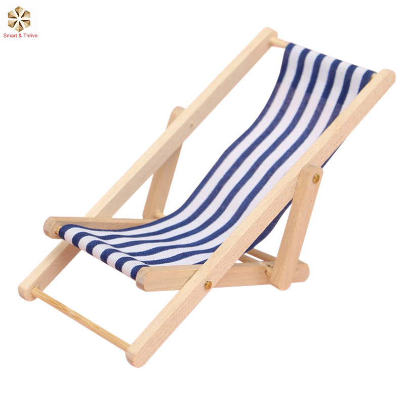 New Design Folding Wooden Outdoor Wood Beach Sling Chair