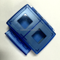 Clear Plastic Memory Card Case Holder For SD Cards