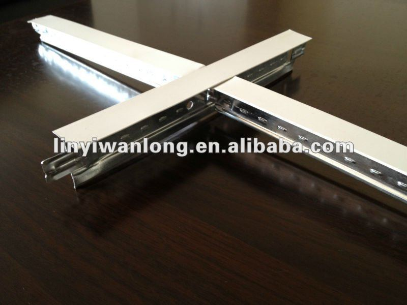 Decorative T Bar Suspended Ceiling Grid Clips For Installation