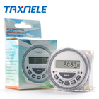 Digital Timer Switch TM619 AC220V 16A Weekly Programmable Time Switch Relay LCD Timer Hour Minute Count