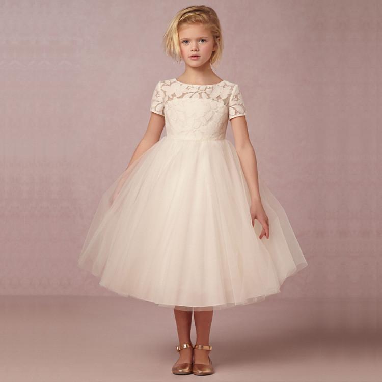 Großhandel blumenmädchen kleid für mädchen Kinder Lange Kleider ...