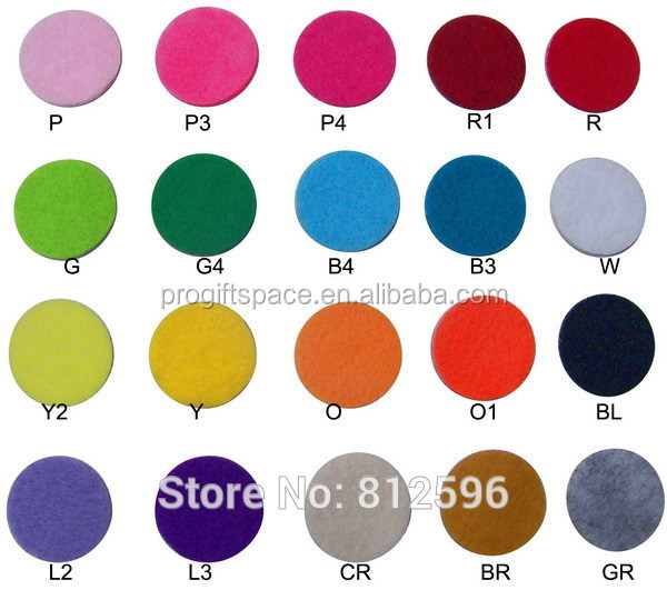 New Product Ideas 2018 Hot Sale Soft Adhesive Felt Circle Sticker