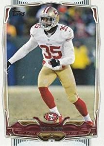 Eric Reid 2014 Topps NFL Football Card #254 San Francisco 49ers