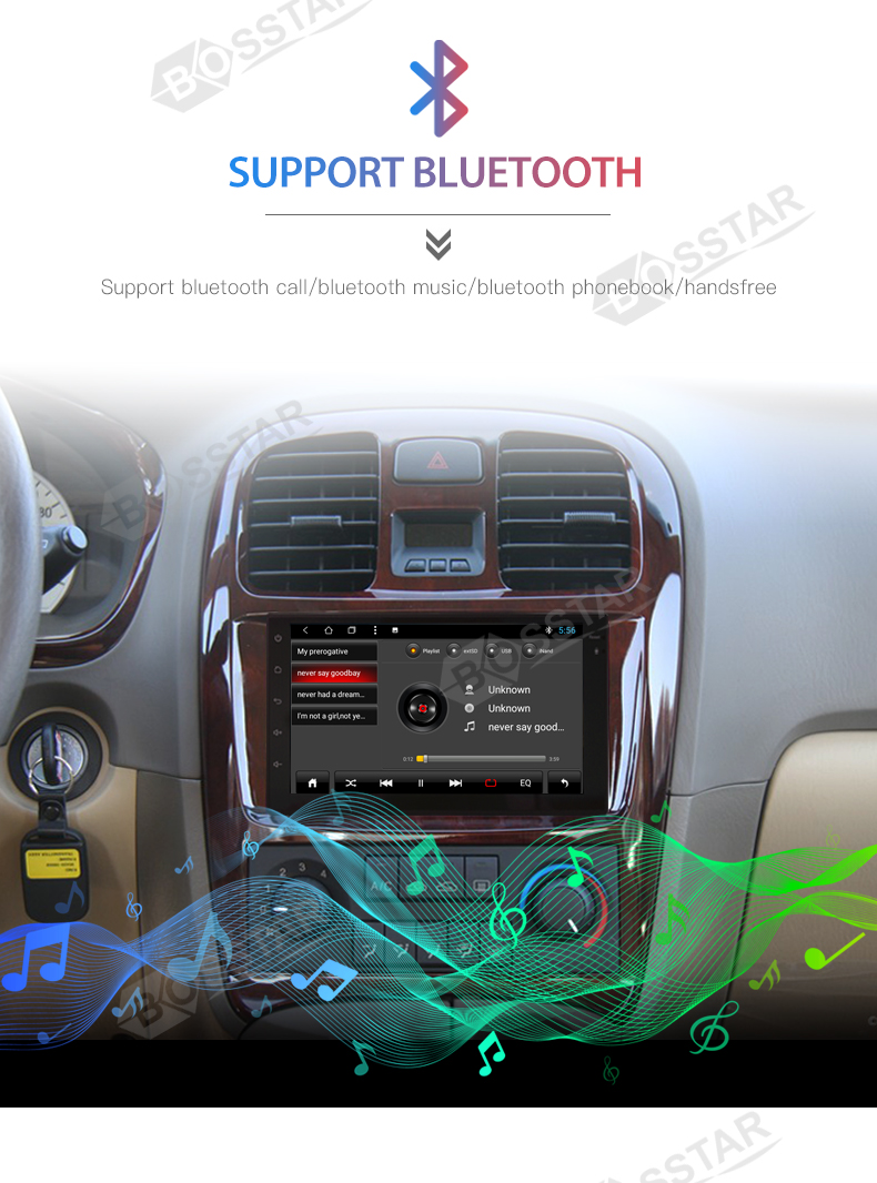 Android Head Unit Auto Radio Audio Multimedia-player für Chevrolet Malibu 2012