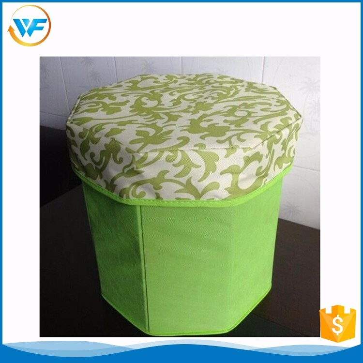 Wholesale Toy Green Octagon Max Home Ottoman For Sundries