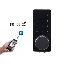 Z wave protocol smart card bluetooth door lock support remote controller