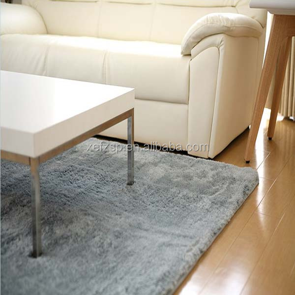 wholesale high quality comfortable shaggy rugs for living room carpet