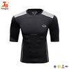 Wholesale custom blank rash guard compression black tee shirts