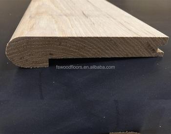 20mm T G Unfinished Solid Oak Nosing Hardwood Floor Molding
