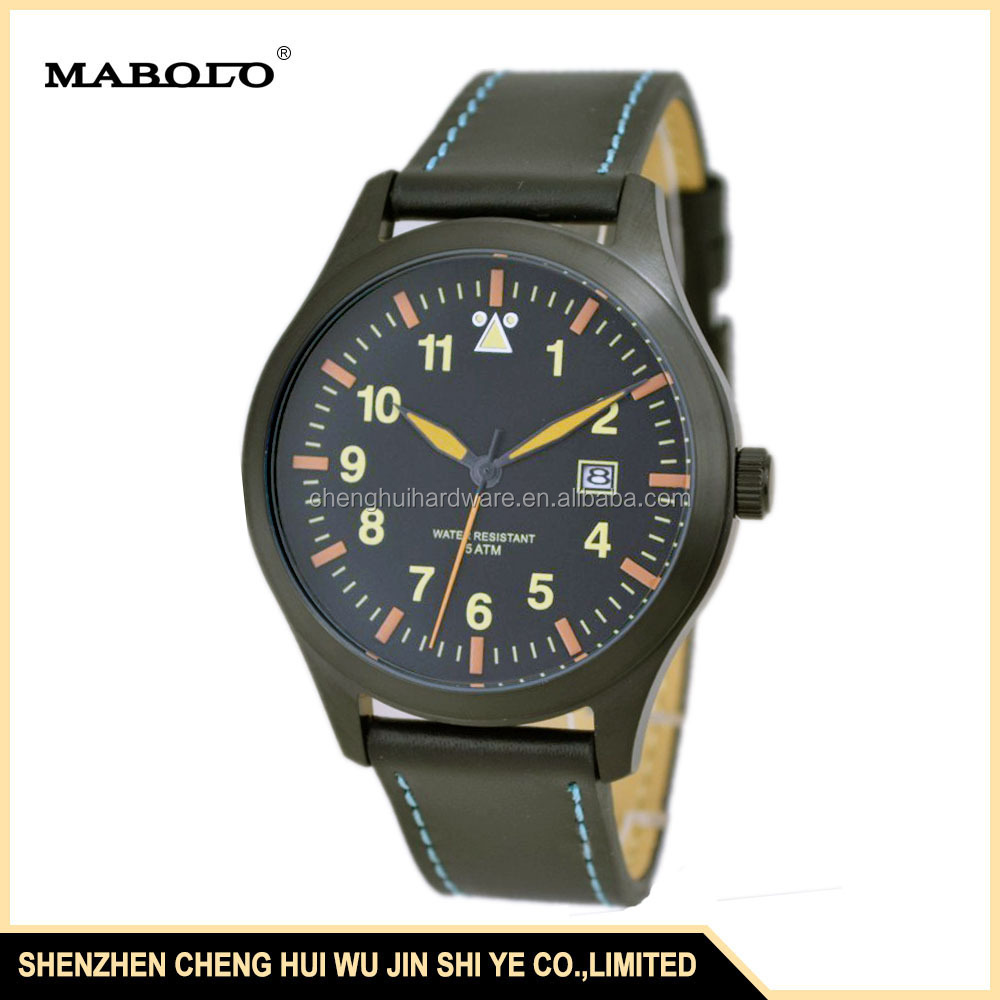 6027G-A Simple And Clean 5 ATM Water Resistant Stainless Steel Wristwatch from Watch Manufacturer