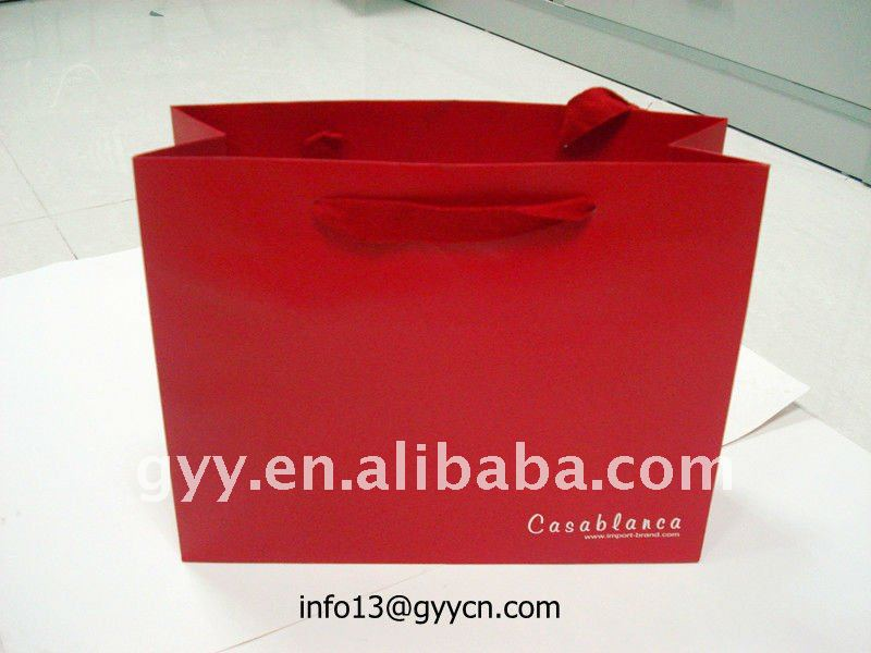 2012 New style and Valentine Day's gift paper bag