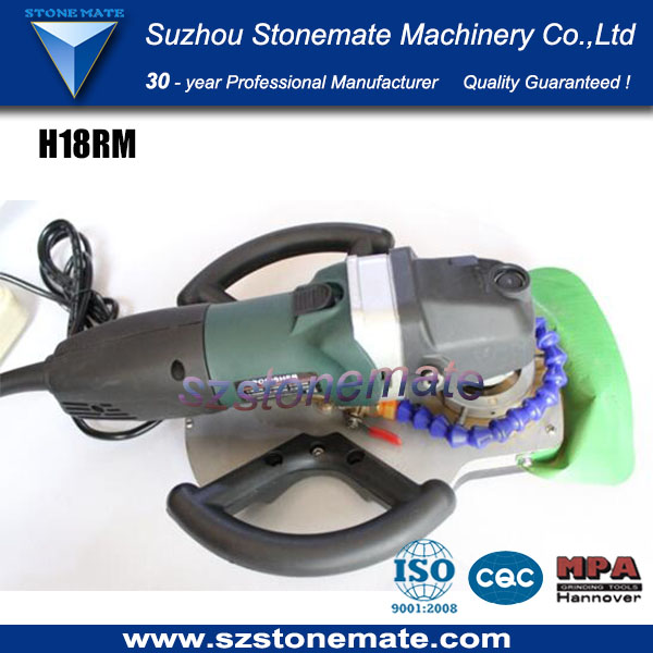 Portable granite edge profile router machine S18RM