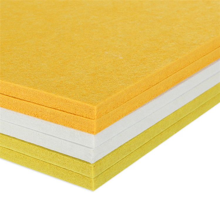 High quality popular sound absorbing board perforated polyester fiber acoustic <strong>panel</strong>